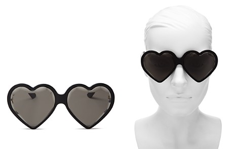 Gucci Women's Heart Sunglasses, 60mm - Bloomingdale's_2