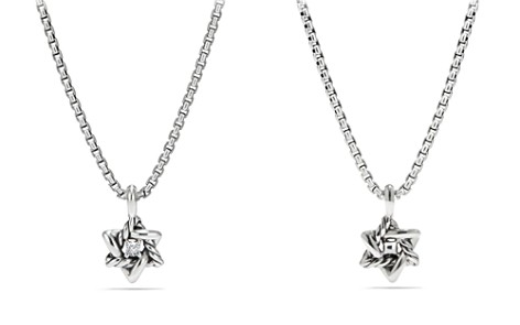 David Yurman Cable Collectibles Kids Star of David Necklace with Diamonds - Bloomingdale's_2