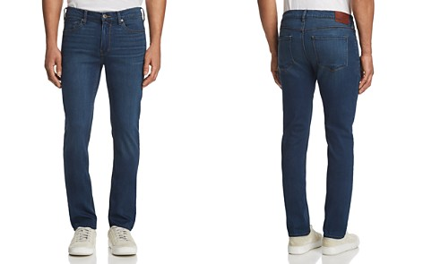 PAIGE Lennox Skinny Fit Jeans in Crowe - Bloomingdale's_2