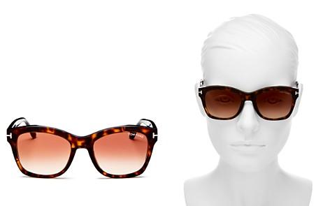 Tom Ford Lauren Square Sunglasses, 52mm - Bloomingdale's_2