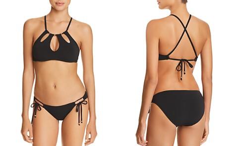 Robin Piccone Luca High Neck Bikini Top & Luca Side Tie Bikini Bottom - Bloomingdale's_2
