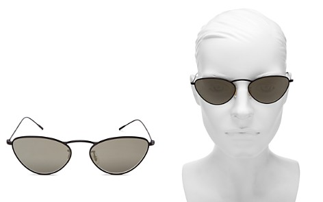 Oliver Peoples Women's Lelaina Mirrored Cat Eye Sunglasses, 56mm - Bloomingdale's_2