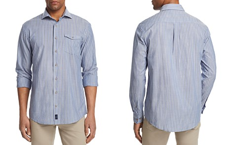 Johnnie-O Troxler Striped Regular Fit Button-Down Shirt - Bloomingdale's_2