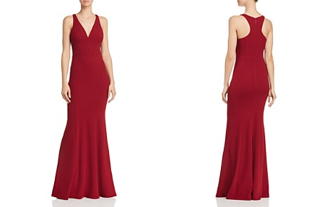 Bariano Gem Racerback Crepe Gown - Bloomingdale's_2