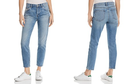 Current/Elliott The Fling High-Rise Straight-Leg Jeans in Bound - Bloomingdale's_2