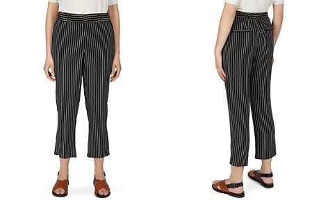 Gerard Darel Marie Striped Cropped Pants - Bloomingdale's_2