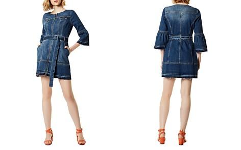 KAREN MILLEN Denim Utility Dress - Bloomingdale's_2