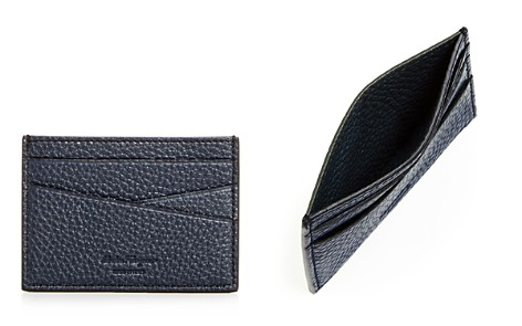 Salvatore Ferragamo New Firenze Leather Card Case - Bloomingdale's_2