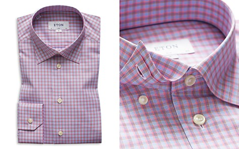 Eton Plaid Slim Fit Dress Shirt - Bloomingdale's_2