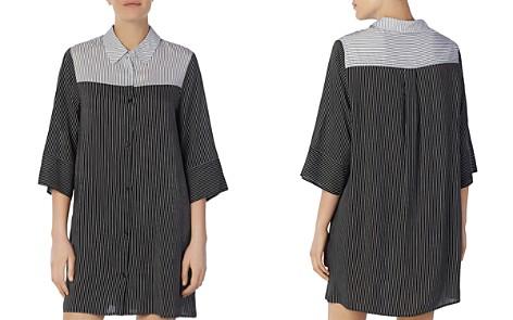 Donna Karan Striped Sleepshirt - Bloomingdale's_2
