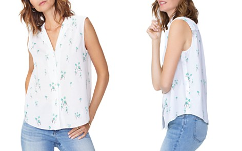 NYDJ Sleeveless Shirt - Bloomingdale's_2