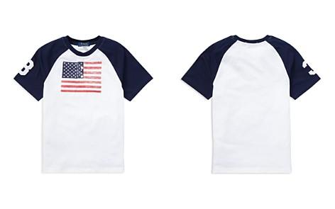 Polo Ralph Lauren Boys' Cotton Jersey American Flag Henley Tee - Big Kid - Bloomingdale's_2