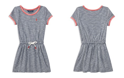 Polo Ralph Lauren Girls' Cotton Striped Shirt Dress - Little Kid - Bloomingdale's_2