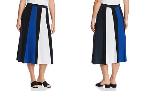 Marina Rinaldi Alburno Color Block Midi Skirt - Bloomingdale's_2