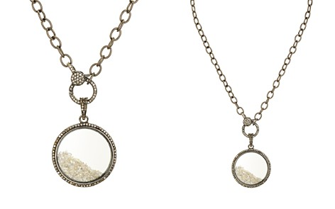 Ela Rae Sterling Silver & Diamond Circle Pendant Necklace - Bloomingdale's_2