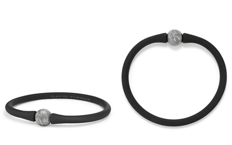 David Yurman Spiritual Beads Stone Rubber Bracelet with Meteorite - Bloomingdale's_2