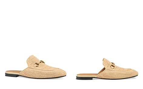 Gucci Men's Straw Princetown Slippers - Bloomingdale's_2