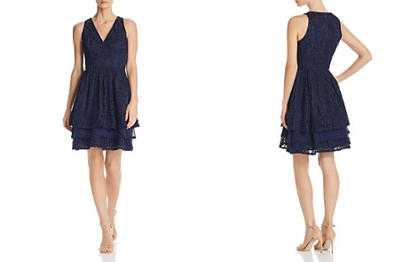 Eliza J Tiered Lace Dress - Bloomingdale's_2