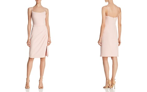 Laundry by Shelli Segal Draped Crepe Dress - 100% Exclusive - Bloomingdale's_2
