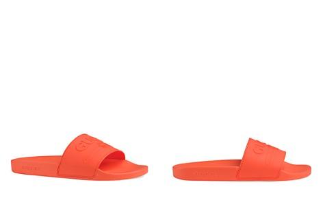 Gucci Men's Logo Slide Sandals - Bloomingdale's_2