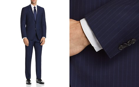 BOSS Johnstons/Lenon Regular Fit Subtle Pinstripe Suit - Bloomingdale's_2