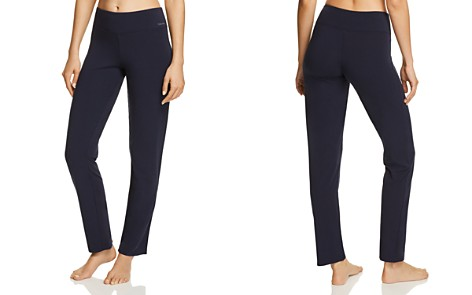 Calvin Klein CK Black Structure Cotton Sleep Pants - Bloomingdale's_2