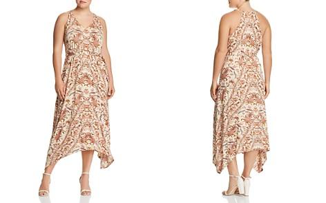Lucky Brand Plus Printed Handkerchief-Hem Maxi Dress - Bloomingdale's_2