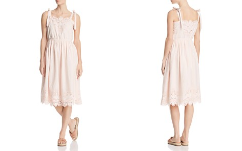 CATHERINE Catherine Malandrino Catia Eyelet Tie-Strap Dress - Bloomingdale's_2