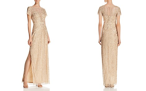 Aidan Mattox Embellished Column Gown - Bloomingdale's_2