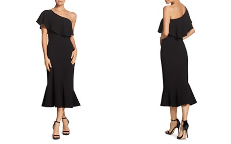 Dress the Population Raquel One-Shoulder Dress - Bloomingdale's_2