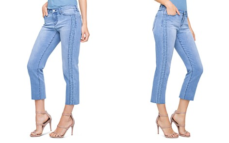 Liverpool Bryce Embroidered Crop Straight Jeans in Devonshire - Bloomingdale's_2