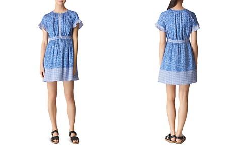 Whistles Riya Print Drawstring Dress - Bloomingdale's_2