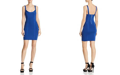 GUESS Mirage Body-Con Dress - Bloomingdale's_2