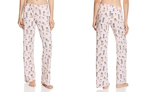 PJ Salvage Dog Flower Crown Pants - Bloomingdale's_2
