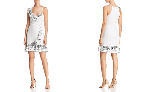 Parker Jay Asymmetric Embroidered Dress - Bloomingdale's_2