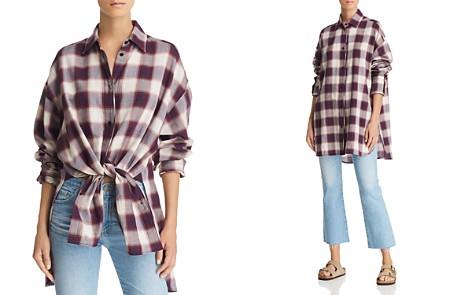 Elizabeth and James Clive Oversize Plaid Shirt - Bloomingdale's_2