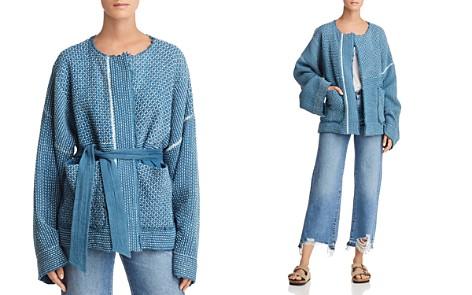 Elizabeth and James Hayden Textured Kimono Jacket - Bloomingdale's_2