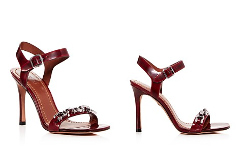 COACH Women's Bonnie Leather High-Heel Sandals - Bloomingdale's_2