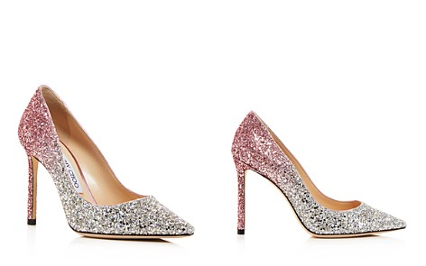 Jimmy Choo Women's Romy 100 Ombré Glitter Pointed Toe Pumps - Bloomingdale's_2