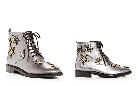 COACH Women's Watts Star-Embellished Leather Booties - Bloomingdale's_2