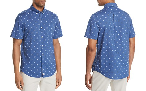 Vineyard Vines Slim-Fit Crossed Fishbone Short-Sleeve Shirt - Bloomingdale's_2