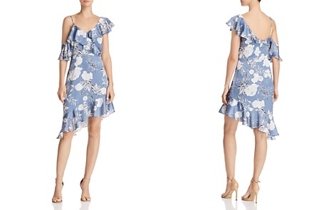 Lucy Paris Emely Asymmetric Floral Print Dress - 100% Exclusive - Bloomingdale's_2