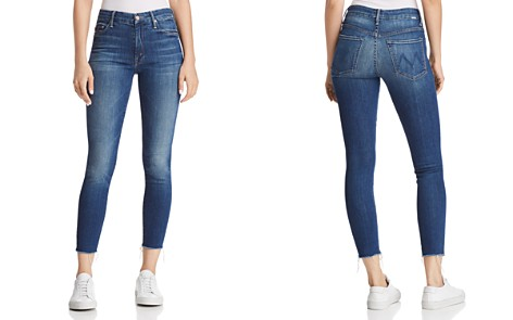 MOTHER The Looker High Rise Ankle Jeans in Goin' for Gold - Bloomingdale's_2
