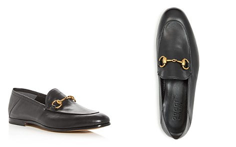 Gucci Men's Brixton Leather Apron Toe Loafers - Bloomingdale's_2