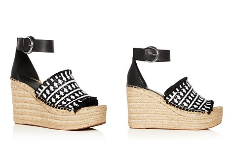 Marc Fisher LTD. Women's Andrew Woven Leather High Heel Platform Espadrille Sandals - Bloomingdale's_2