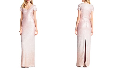 Adrianna Papell Ombré Sequined Gown - Bloomingdale's_2
