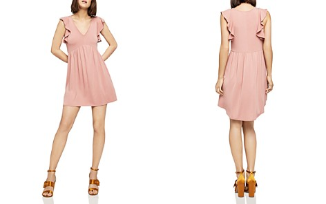 BCBGeneration Ruffle-Trim A-Line Dress - Bloomingdale's_2