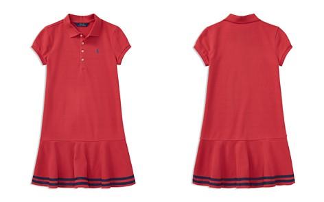 Polo Ralph Lauren Girls' Polo Dress - Big Kid - Bloomingdale's_2