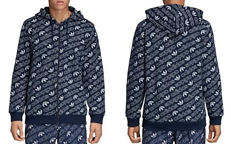 adidas Originals Monogram Zip Hooded Sweatshirt - Bloomingdale's_2