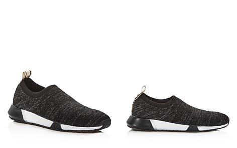 Kenneth Cole Women's Santell Glitter Knit Slip-On Sneakers - Bloomingdale's_2